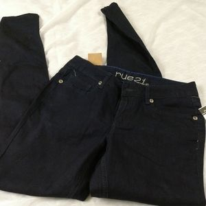 Rue 21 jeggings size 5/6 long woman's new
